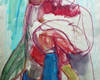 Boots-Drawing-by Aleksandra Smiljkovic Vasovic aleksandraartworkcom