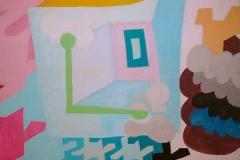 Compass, 1998,oil on canvas, 142/125 cm