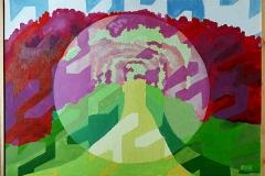 Rose Garden, oil on canvas, 2007, 60/50 cm