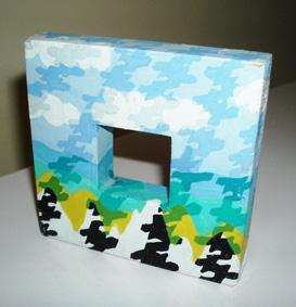 Miniature Landscape, 2000, 8x8cm
