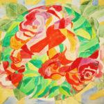 Roses-Painting-by Aleksandra Smiljkovic Vasovic aleksandraartworkcom