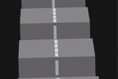 E 75, computer animation, digital prints, 2001