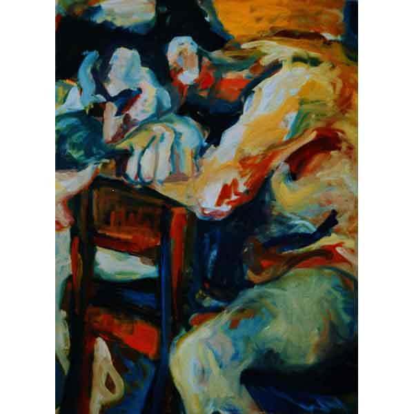 Giant,  1991, oil on canvas, 90/60 cm