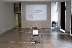 DIAMOND, ambience, computer animation, digital prints, lightning effects, 2007